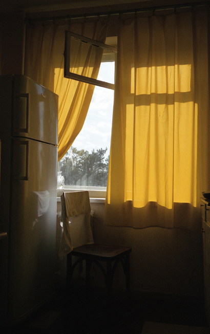 Yellow curtains, May, 2015